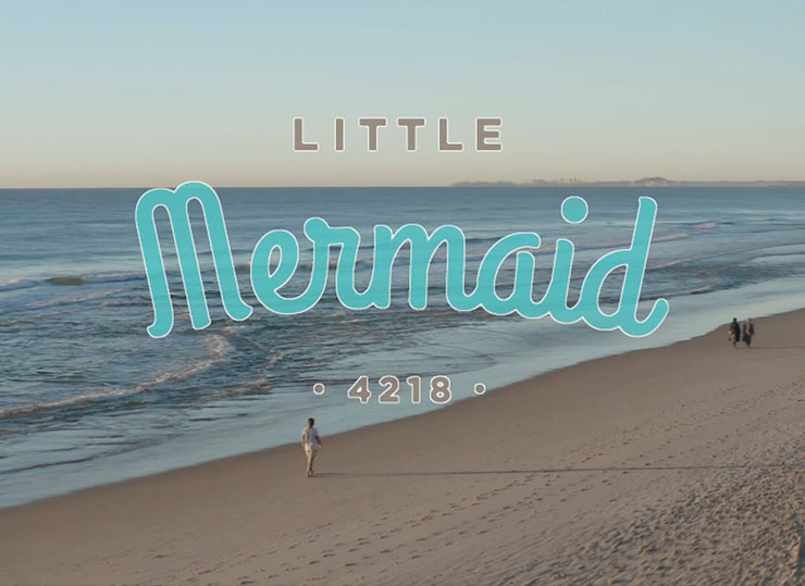 Little Mermaid Resturant + Mermaid Beach
